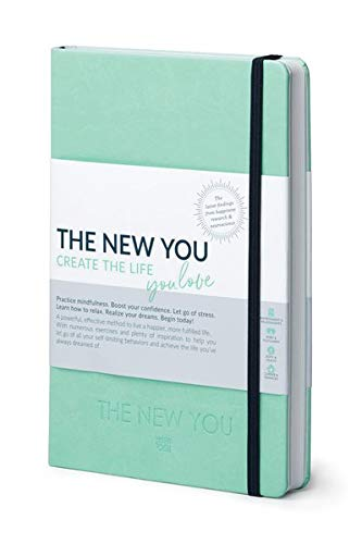THE NEW YOU - Create the life you love (Mint): A powerful, effective method to live a happier, more fulfilled life. Coach, Self-reflection & Planner to achieve the life you've always dreamed of.