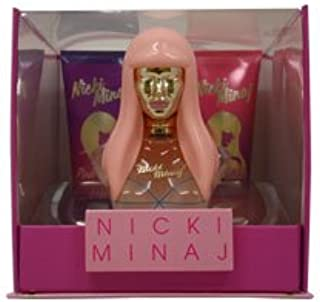 Women's - Female - Nicki Minaj - Pink Friday Gift Set EDP 100ml 100ml Eau de Parfum + 100ml Body Lotion + 100ml Shower Gel