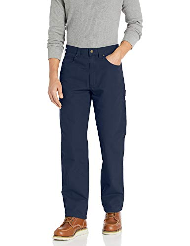 Amazon Essentials Carpenter with Tool Pockets jeans, Navy, 34W x 28L