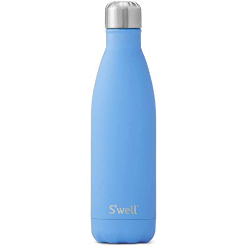 S'well Vacuum Insulated Stainless Steel Water Bottle, 500mL, Geyser