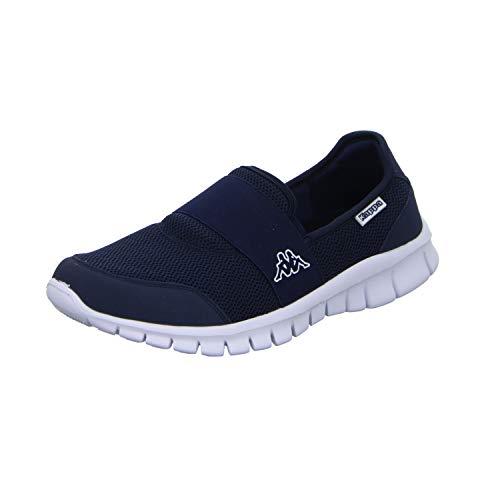 Kappa Unisex-Erwachsene Taro Sneaker, Blau (6710 Navy/White), 38 EU