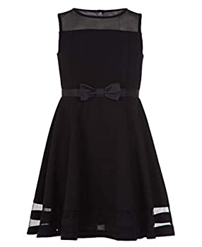 Calvin Klein Girls  Sleeveless Party Dress Black 7