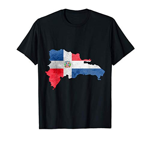 Dominican Republic Country Dominicana Flag Grunge T-Shirt