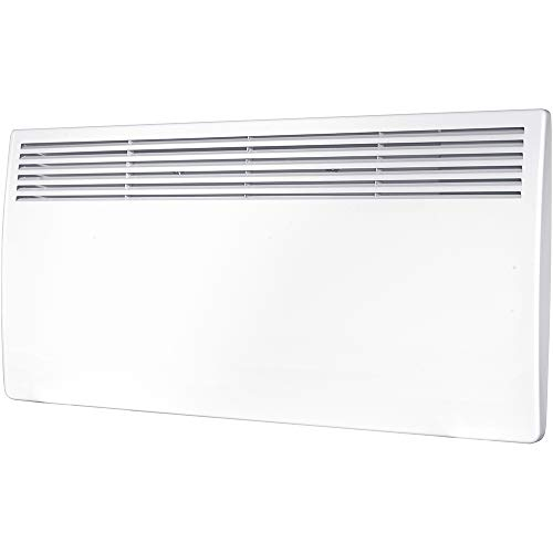 Hyco AC2000T Accona 2000W LOT20 Panel Heater with 7 Day Timer & Digital Thermostat - White. Devola Led Keyring.