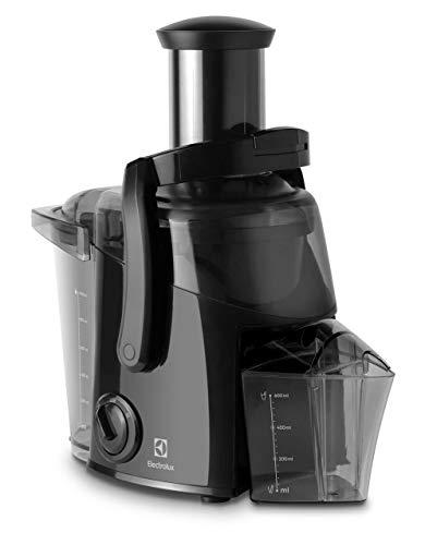Electrolux ECJ1-4GB Entsafter für Obst und Gemüse mit Becher, 700 W, 0,6 Liter, Schwarz