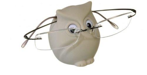 dokson Brillenhalter Eule in 3 Farben (weiß)