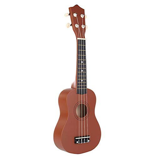 Ukelele De ConciertoUkelele De Tilo Soprano Marrón De 21 Pulgadas, Instrumento Musical...