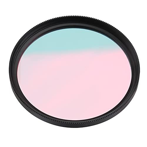 Filtro de Lente UV, 62 mm 67 mm UV-IR Filtro UV infrarrojo Filtros Filtro de Lente no Ultravioleta atornillado con Caja de Almacenamiento, Universal para cámara Digital DSLR(52 mm)