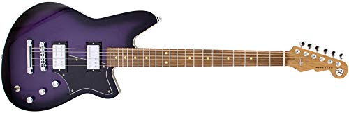 Reverend Descent RA Baritone Purple Burst