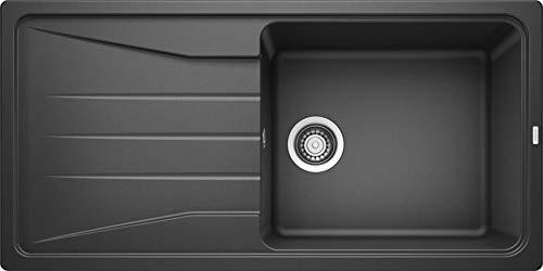BLANCO Sona XL 6 S, Küchenspüle, Silgranit Puradur, anthrazit, reversibel, 1 Stück, 519689