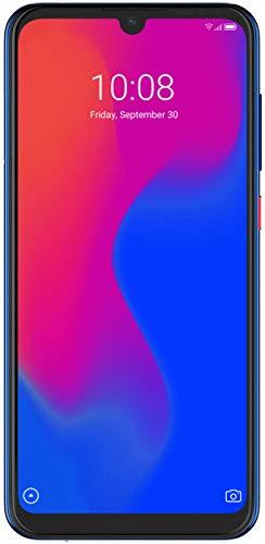 ZTE Smartphone Blade A7 (15.46 cm (6,08 Zoll) HD+ Display, 4G LTE, 2GB RAM und 32 GB interner Speicher, 16 MP Hauptkamera und 8 MP Frontkamera, Dual-SIM, Android 9) Blau