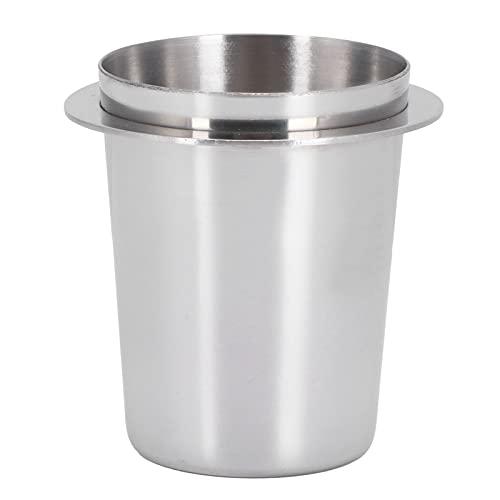 ohcoolstule Taza dosificadora de café, Distribuidor de café de 51 mm, Parte del alimentador de Polvo de la...