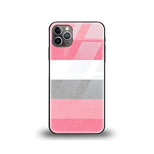 Funda de tela de moda para iPhone 12 Pro Funda para iPhone 12 11 XR Pro XS Max X 7 8 6 6S Plus SE 2020 de vidrio templado Caso W0146-para iPhone 6 6S Plus