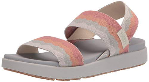 Keen Women's ELLE Backstrap-W Sandal, Brick Dust Vapor, 5 UK
