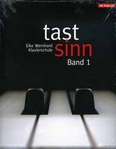 Tastsinn 1 - arrangiert für Klavier - mit CD [Noten / Sheetmusic] Komponist: Wernhard Eike