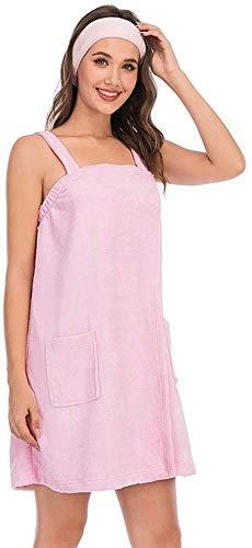 Camisón,bata suave para dormir,conjunto de albornoz para mujer,toalla de baño...