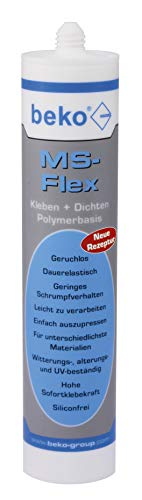 Beko MS-Flex lijmen & dichtheid, 600 ml, zakproduct, wit