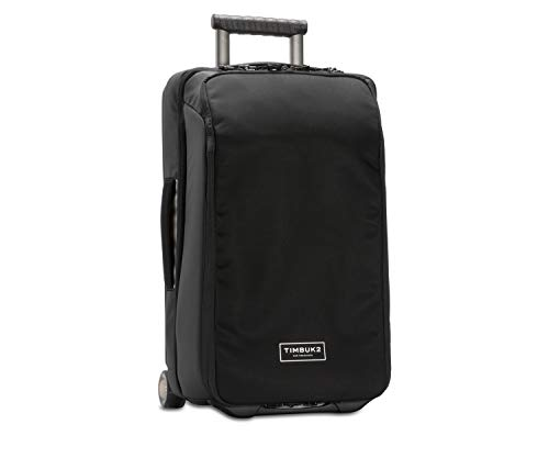 TIMBUK2 Copilot Deluxe Luggage Roller Suitcase, Black Deluxe, 22 inch