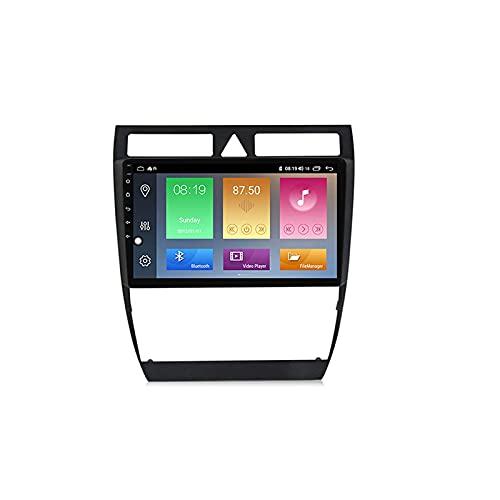 Android 10.0 coche estéreo 2 Din In-Dash Radio para a6 s6 rs6 1999-2004 navegación GPS pantalla táctil MP5 reproductor multimedia receptor de vídeo con 4G/5G WiFi Carplay