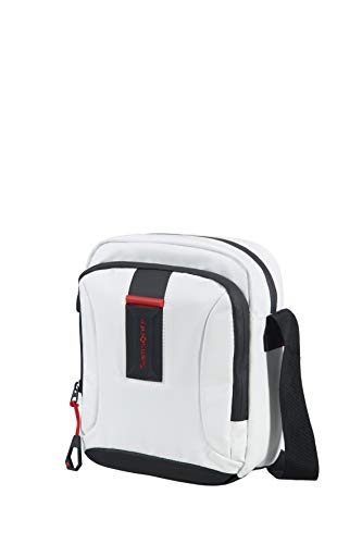 Samsonite Cross-Over S (White) -PARADIVER Light  Bolso Bandolera, Blanco (White)