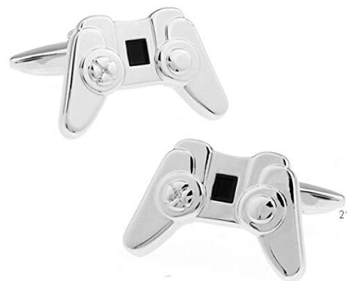 BEPM Gamepad Manschettenknöpfe 3 Stile Option Lustiges Joystick-Design-3