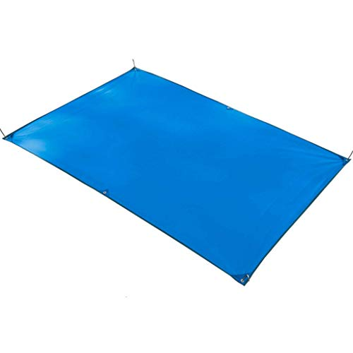 Draussen Picknickdecke im Freien Picknickmatte Multi-Color und Multi-Size optional Campmatte Regenschutztuch Shade-Tuch Matte (Color : Blue, Size : 150 * 215cm)
