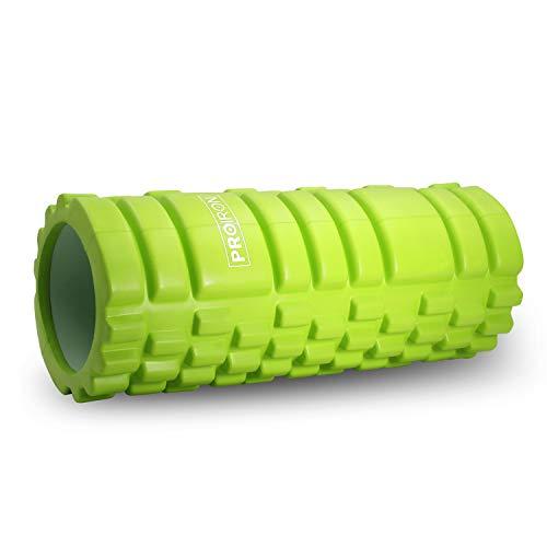 PROIRON Fitness Rodillo de Espuma Foam Roller Pequeño Pilates para Masajes, de Tejido Profundo para Muscular Fitness Pilates Yoga 14 x 33cm, Peso Ligeroios