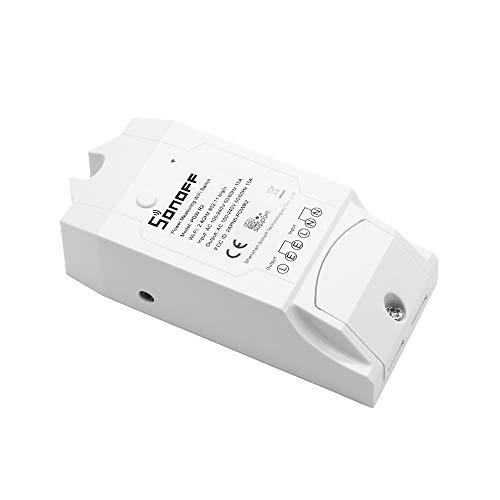 OWSOO Smart WiFi Switch Wireless ON/Off Controller mit Echtzeit-Stromverbrauchsmessung 16 A/3500 W Smart Home Device Support für Alexa Voice Control & APP Fernbedienung