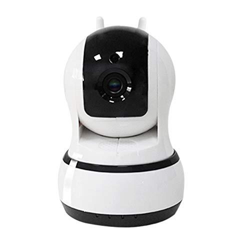 Andifany Cámara Ip 1080P, Cámara de Seguridad Wifi Audio Bidireccional, Alerta de Actividad Almacenamiento en la Nube para el Hogar para Bebés, Ancianos, Mascotas (Enchufe de la Eu)