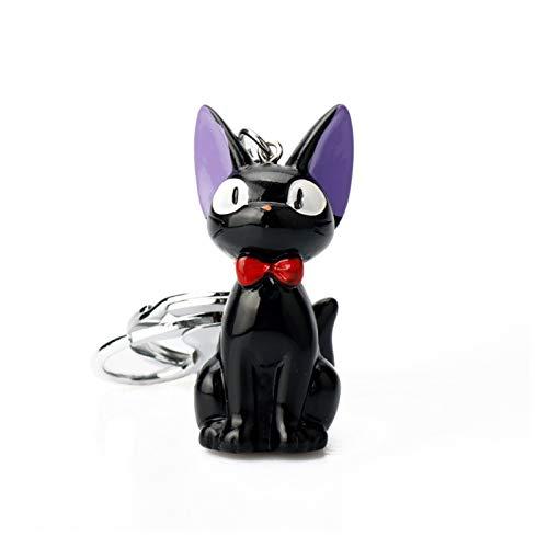 Fyftwh Keychain Cartoon Trinket Resin 3D keychain Lovely Key ring Car Keyholder Women Men key chain (Color : J)