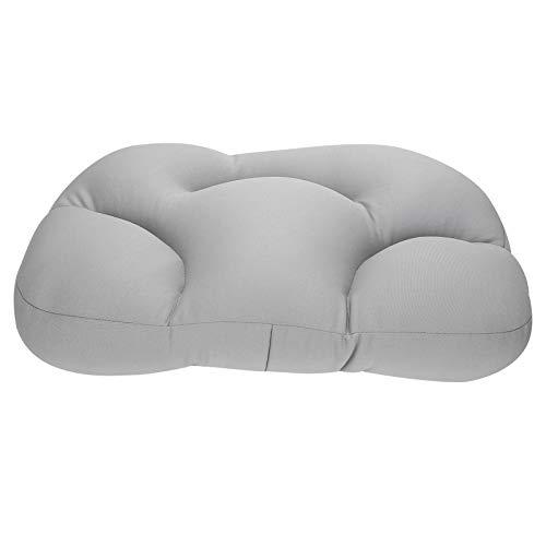 Tomanbery Oreiller de Soutien du Cou respectueux de la Peau Oreiller de Sommeil pour Toutes Les Postures de Sommeil pour Femmes et Hommes pour Dormir pour Une Posture de Sommeil latérale(Gray)