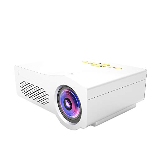 Projeatione mini-beamer, USB/TF/AV/HDMI HD-interface, mini-pico-huishoudprojector, kan U-disk, mobiele harde schijf, SD-kaart