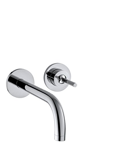 AXOR Wasserhahn Uno Unterputz (Armatur mit Auslauf Länge 165mm, Wandmontage) Chrom