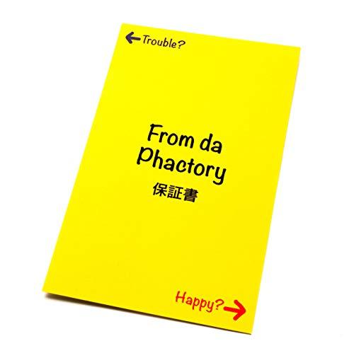 FromdaPhactory透明ピアス16G14G軟骨ピアスボディピアスストレートバーベルアクリルクリア(透明,16Gシャフト6mmボール3mm)