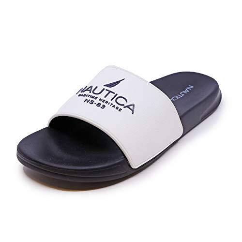 Nautica Men's Athletic Slide Comfort Sandal