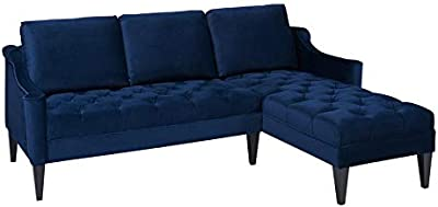 Amazon.com: Edloe Finch Midcentury Couch Down Feather ...