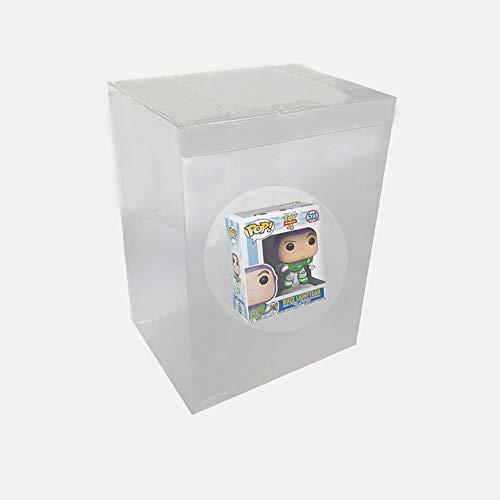 WiCareYo Caja Protectora Estuche Protectora de plástico Transparente para Figuras de Vinilo Funko Pop de 4 Pulgadas