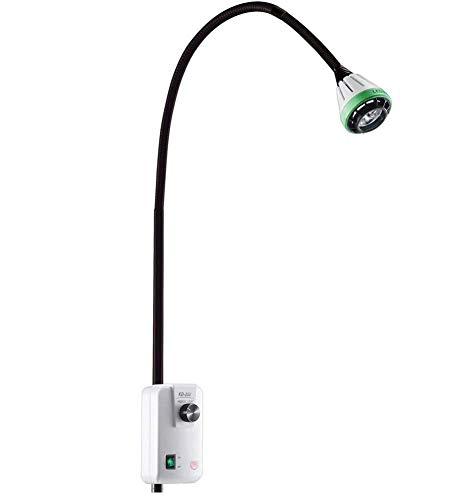 Lámpara LED para examen quirúrgico médico de 9 vatios Tipo de luz para pared, LED para montaje en pared Ortopedia Lámpara para examen dental Cirugía quirúrgica Ent Lámpara para examen de belleza