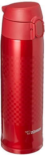 Zojirushi SM-TAE48RZ Stainless Steel Vacuum Insulated Mug, 16-Ounce, Ichimatsu Red