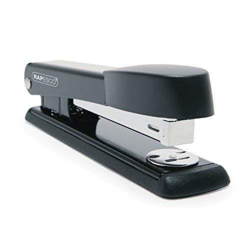 Rapesco Stapler R54500B2 - Marlin, 25-sheet capacity. Uses 26 and 24/6mm Staples - Black