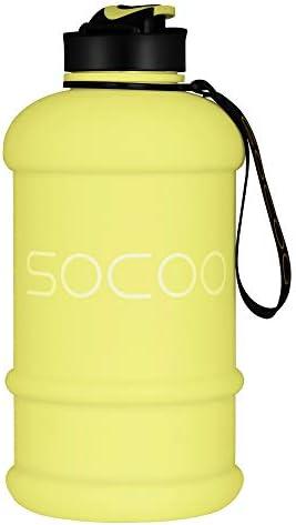 SOCOO Bouteille /à Eau en Plastique sans BPA pour entra/înement Sportif en ext/érieur