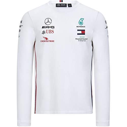 Fuel For Fans Formula 1 Herren-Poloshirt, Scuderia Ferrari, Rot, Größe XS, Herren, Mercedes-AMG Petronas F1 - Team Polo 2020, Polo, weiß, XX-Large