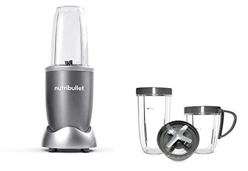Confezione Nutribullet 600W 4 pezzi + kit accessori