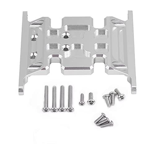 Niiyen Aluminum Alloy Gear Box Holder, Center Skid Transmission Plate, Aluminum Alloy Accessory Part Gear Box Mount Holder for SCX10 / SCX10 II/TFL RC Crawler Car