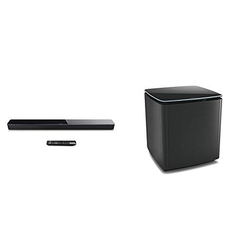 Bose SoundTouch 300 - Barra de sonido, color negro + Bose Acoustimass...