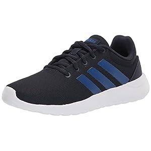 adidas Lite Racer CLN 2.0 Running Shoe, Ink/Team Royal Blue/White, 2.5 US Unisex Little Kid