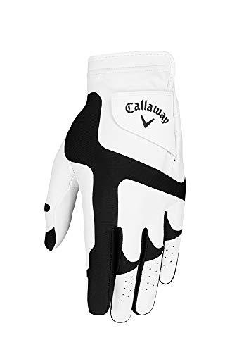 Callaway Opti FIT Golfhandschuh, Herren, Weiß/Schwarz, Einheitsgröße