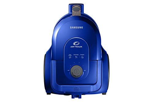 Samsung VCC43U1V3D/XET Staubsauger ohne Beutel, Doppel-Kammer-Spirale, Bürste 2 in 1 für Teppiche und Böden 170 W, intensives Blau
