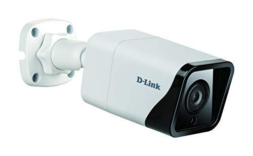 D-Link DCS-4712E Cámara IP Bullet Exteriores Vigilancia 2 megapíxeles H.265 con resolución Full HD 1080p, CCTV, Visión Nocturna 30 m, H.265, WDR, LowLight+, PoE, IP66, Ranura Micro SD, ONVIF