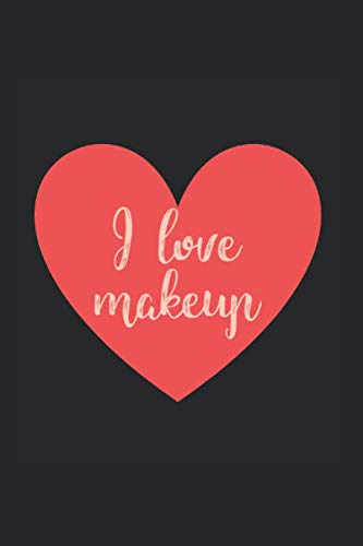 Love for makeup: Beauty Notebook 120 dot graph pages